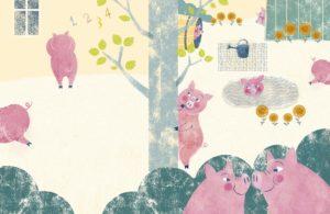 Ilustração de Alessandra Vitelli, Amigos BICHOS e abraços, no prelo