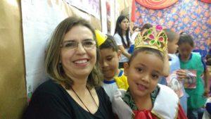 CLAUDIA LINS E LEITORA RAINHA
