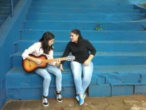 Claudia e Eduarda