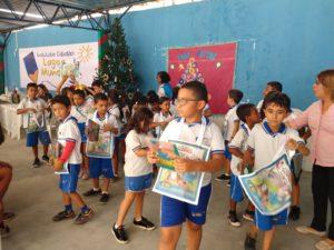 Crianças e equipe pedagógica do Instituto foram contempladas com livros do projeto