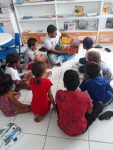 Livros doados para o programa Eu Posso no sertão de Alagoas