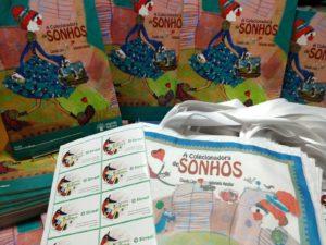 O Sincred Alagoas doou 200 livros para crianças da orla lagunar
