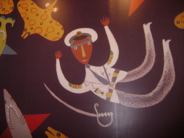 Murais dedicados a cultura brasileira