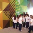 Estudantes visitaram a mostra