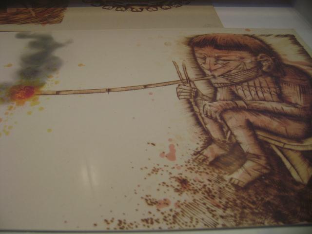 Ilustrações inspiradas na cultura indígena