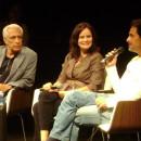 Embaixador Lauro Moreira e o escritor José Agualusa em conversa mediada por Luciana Savaget