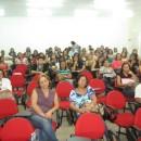 Público formado por diretoras e educadores de escolas de Maceió