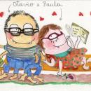 Ilustração de  Paula Browne, monstrinhos