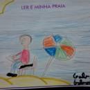 Gabriel de 8 anos ilustrou