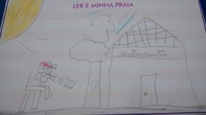 Ilustração de aluno do 3º A