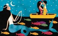 Ilustrações de Hallina Beltrão para o livro Histórias Encantadas do São Francisco, Espiral editora