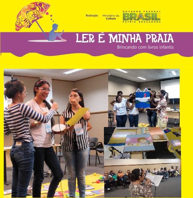Oficina com estudantes de Pedagogia e educadores na VII Bienal de Alagoas