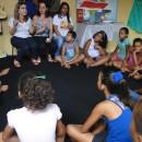 Apresentando o projeto para as ciranças de Palmeira dos Ìndios