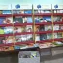 Cantinhos de leitura na Associação do Peixe-Boi