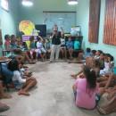 Oficina em Porto de Pedras contou com mais de 40 crianças