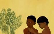 Ilustração de Denise Rochael para o livro Nyuni